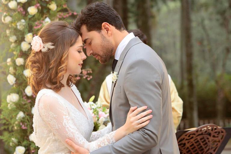 Uma das sequências de cenas mais esperadas da trama do SBT, o casamento levou três dias para ser filmado