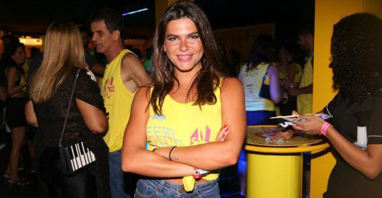 Mariana Goldfarbcurte trio elétrico na Bahia