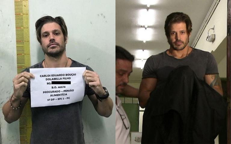 Dado Dolabella completa uma semana preso