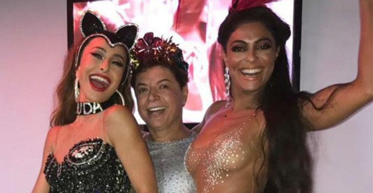 Sabrina Sato, David Brazil e Juliana Paes