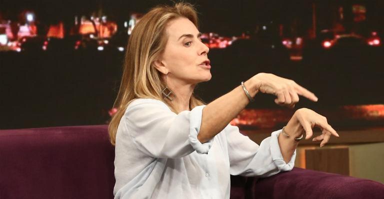 Em entrevista ao 'Programa do Porchat', a atriz também falou sobre sua saída da Globo, após 37 anos de trabalho na emissora