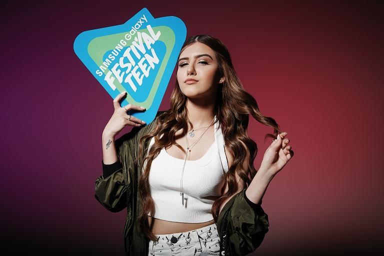 Sofia Oliveira será uma das atrações do Festival Teen