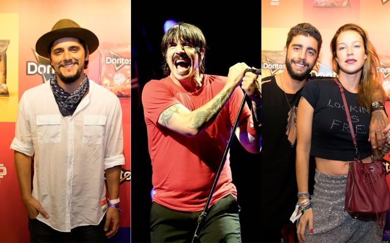 Red Hot Chili Peppers foi uma das grande atrações, assim como o DJ Alok, Mallu Magalhães e outros artistas. Os famosos, claro, lotaram o Lolla Lounge para conferir todas os shows