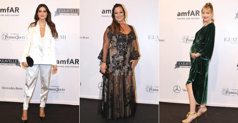 Confira os looks dos famosos no baile de gala da amfAR