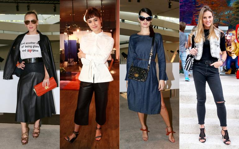 Sophie Charlotte, Isabeli Fontana e os looks das famosas no fim de semana