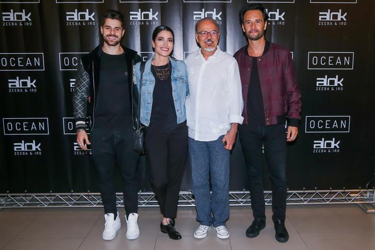 Rodrigo Santoro vai à avant-premiére do novo clipe de Alok