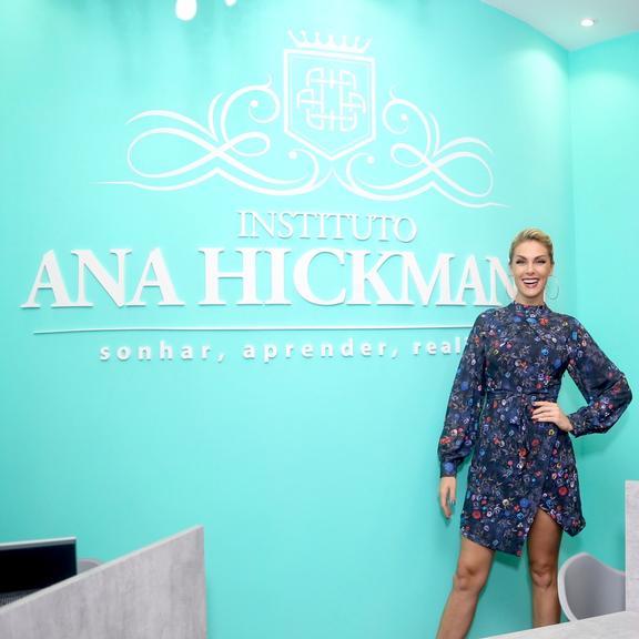 c3e40dff1609c Ana Hickmann inaugura Instituto que leva seu nome