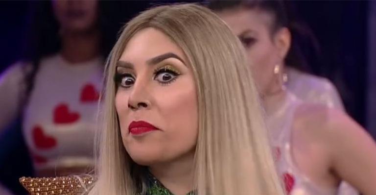 Telespectadora do 'Domingão' descobre erro na nota de Naiara Azevedo no 'Show dos Famosos'