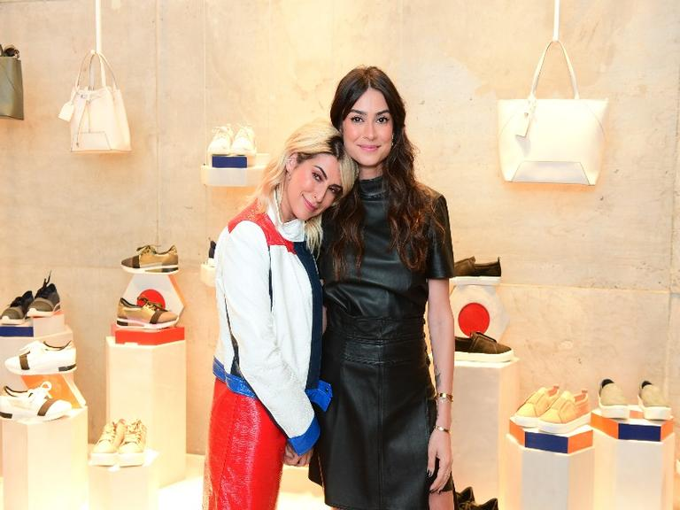 Thaila Ayala e Fernanda Paes Leme vão a evento em São Paulo