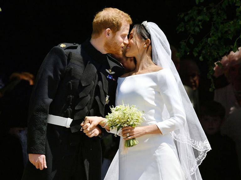 Meghan Markle e Príncipe Harry se casam e quebram tradições da Realeza britânica