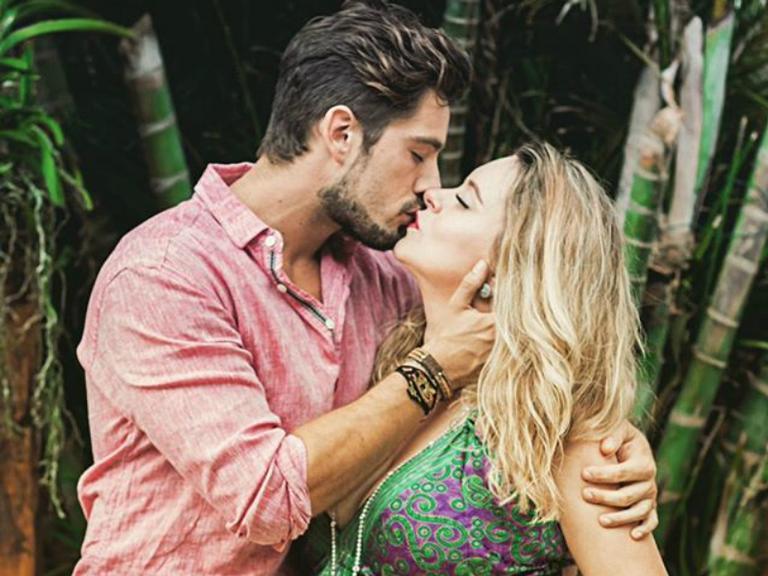 Rafael Cardoso e esposa, Mariana Bridi