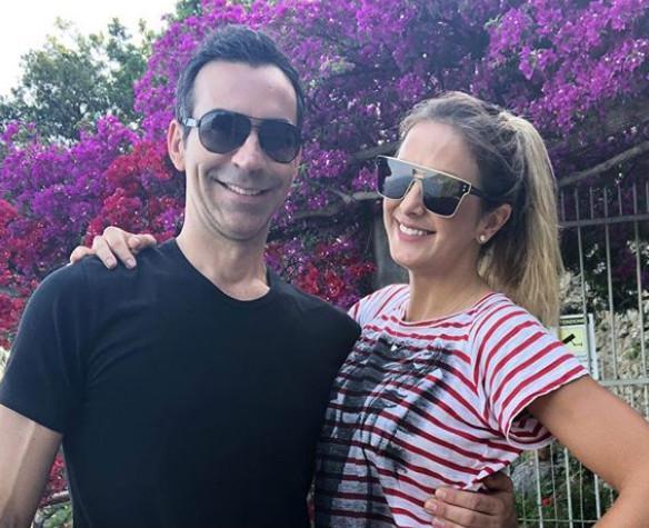 César Tralli e Ticiane Pinheiro curtem férias na Itália