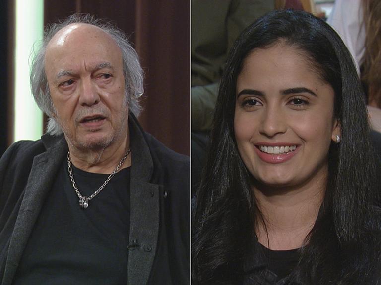Erasmo Carlos e Fernanda Passos