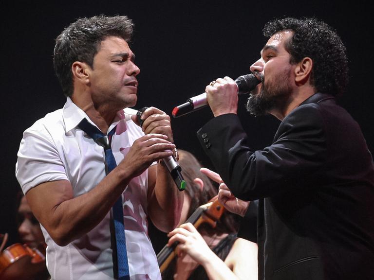 Zezé di Camargo e Luciano: show para o Dia dos Namorados