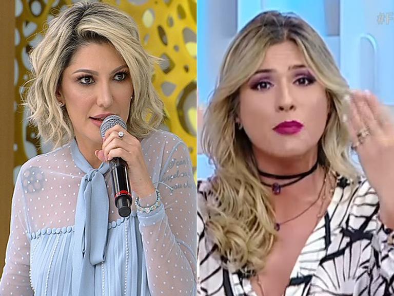 Antonia Fontenelle responde críticas de Lívia Andrade