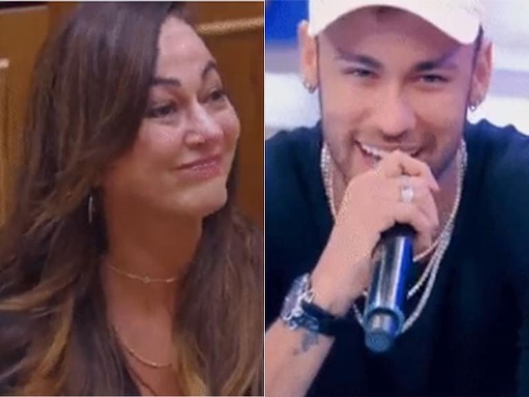 Neymar pai conta confusão na escolha do nome do filho