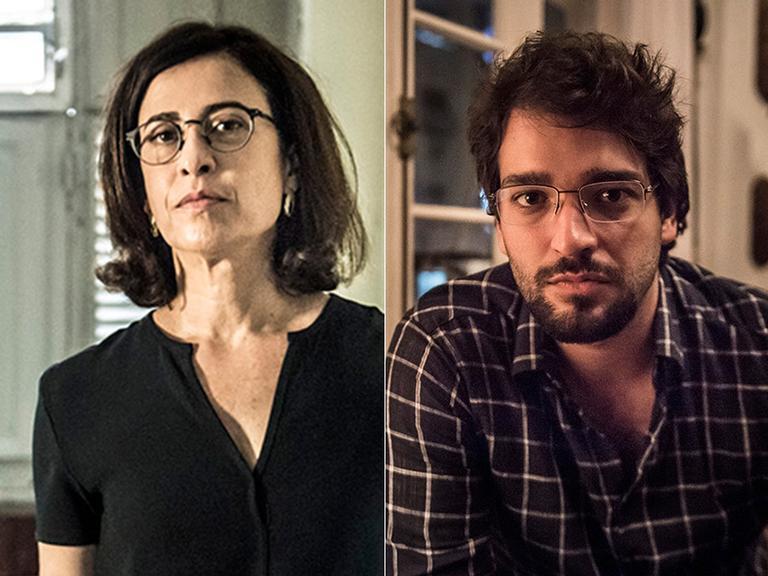 Fernanda Torres e Humberto Carrão