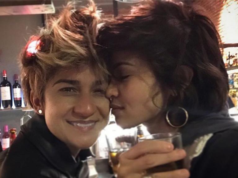 No Dia dos Namorados, Nanda Costa assume namoro com Lan Lan: 'Mais um'
