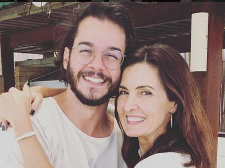 Túlio Gadelha e Fátima Bernardes
