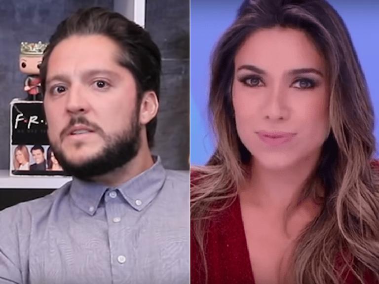 André Vasco comenta mal-estar com Patrícia Abravanel