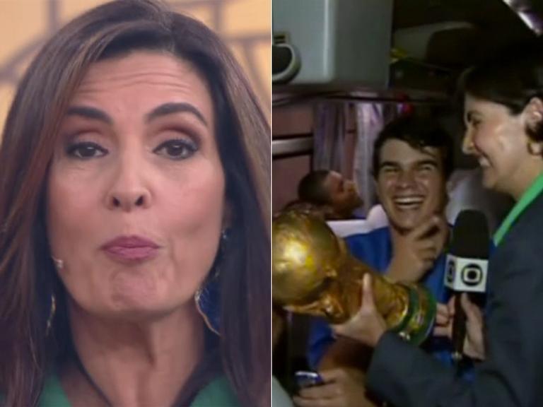 Fátima Bernardes relembra responsabilidade ao erguer a taça em 2002