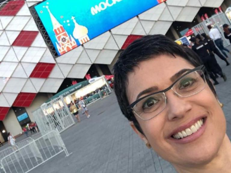 Com direito a docinhos, Sandra Annenberg compartilha torcida pela Seleção
