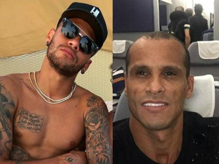 Rivaldo manda recado carinhoso para Neymar: