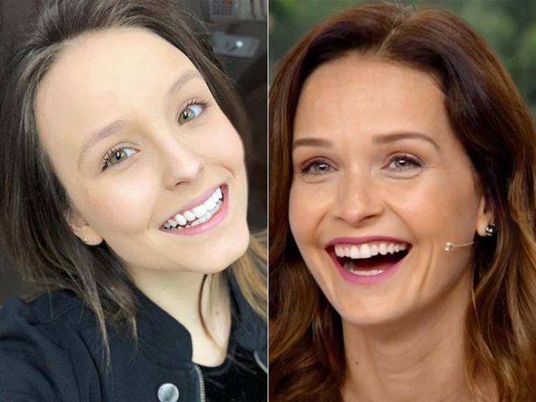 Larissa Manoela e Fernanda Rodrigues: parecidas?