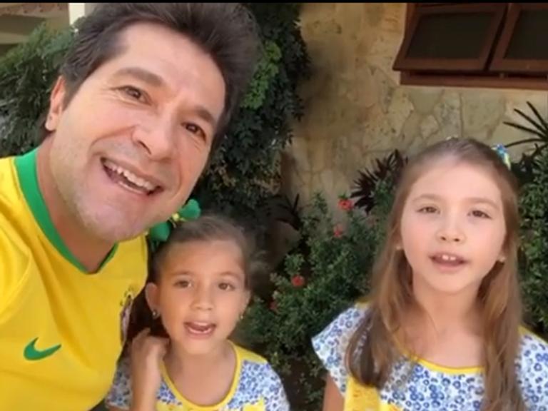 Daniel, Luiza e Lara