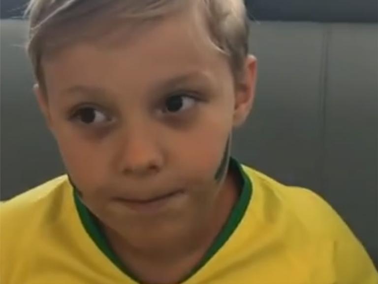Davi Lucca faz previsão antes do jogo Brasil e Bélgica