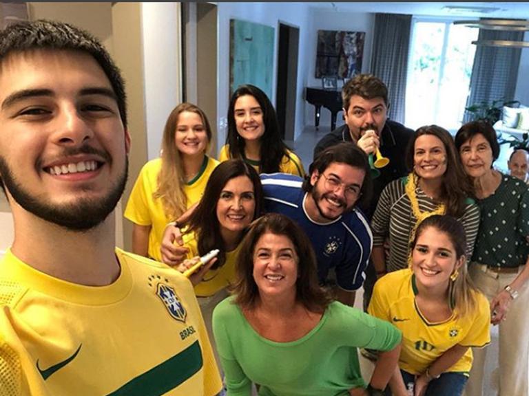 Família de Fátima Bernardes