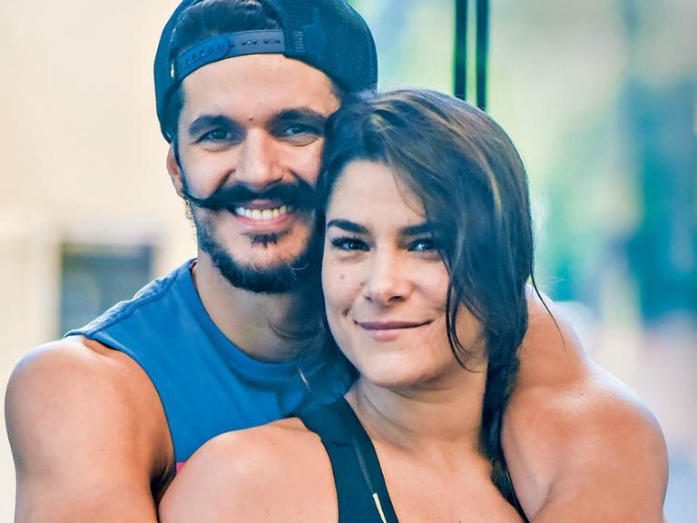 Priscila Fantin e Bruno Lopes abrem o jogo sobre relação e rotina fitness