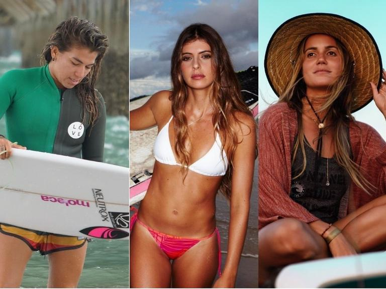 Surfistas ensinam cuidados com os cabelos