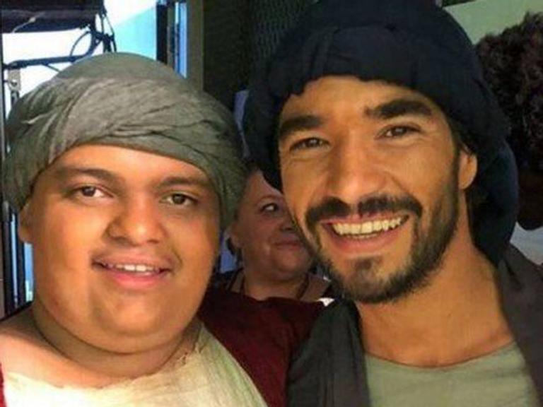 Filho de Caio Blat estreia como ator em filme espírita