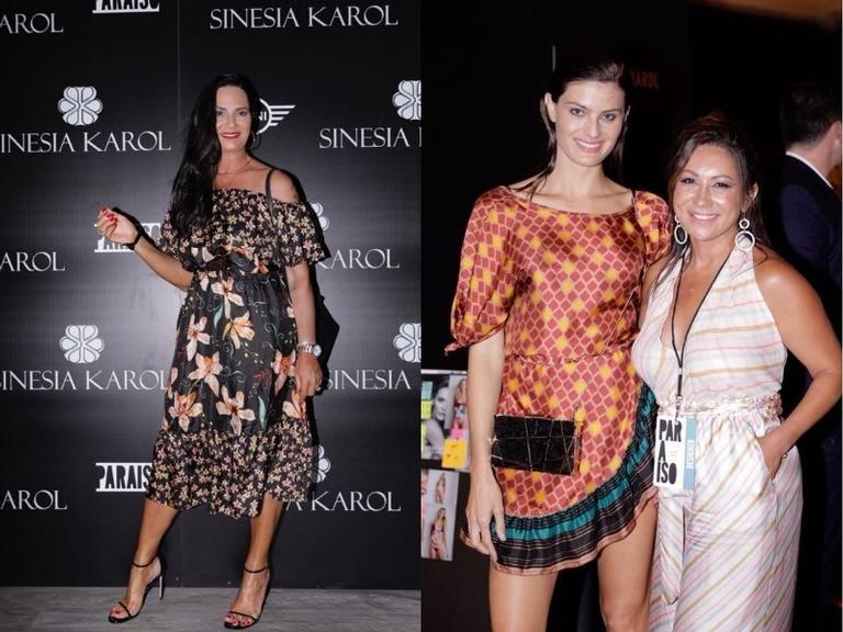 A top model brasileira foi destaque da apresentação da estilista Sinesia Karol