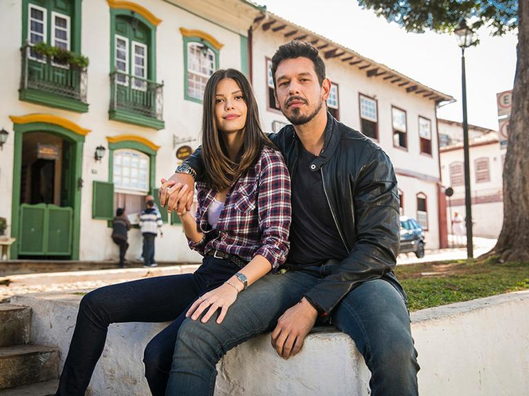 Vitória Strada e João Vicente de Castro