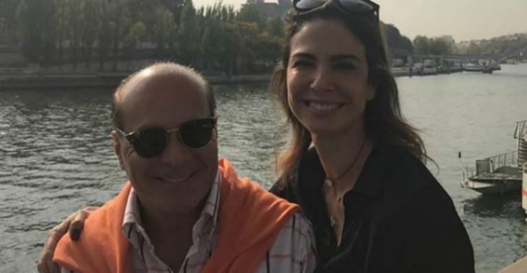 Luciana Gimenez presenteia ex-marido com homenagem carinhosa
