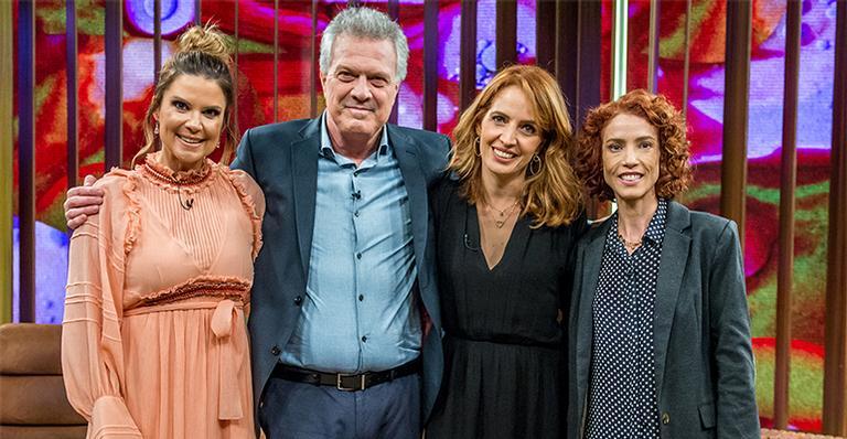 Mariana Kupfer, Pedro Bial, Poliana Abritta e Teté Ribeiro