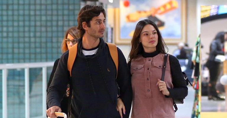 Isis Valverde e o marido, André Resende