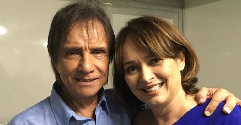 Myrian Rios relembra viagem romântica com Roberto Carlos