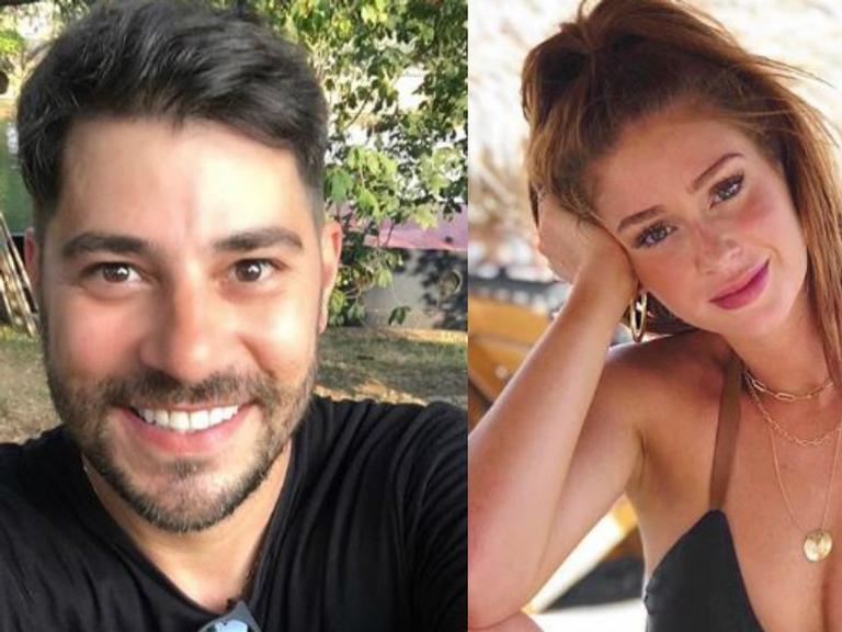 Evaristo faz 'Photoshop' em clique de Marina Ruy Barbosa