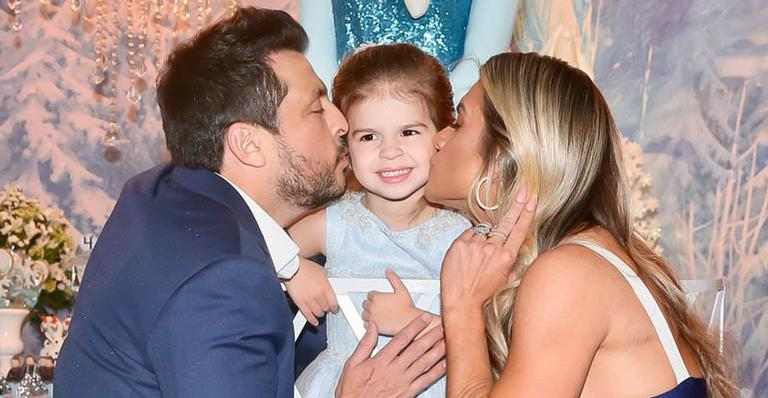 Aniversário da Valentina, filha de Ceará e Mirella Santos