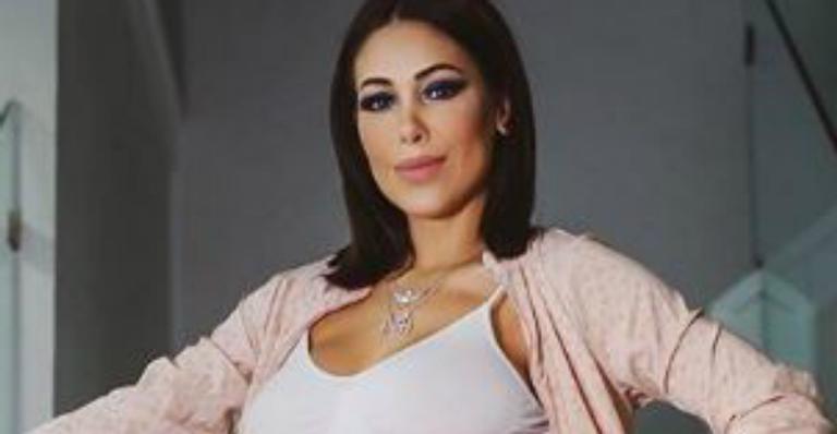 Na 39 semana de gestação, Bella Falconi se prepara para a chegada de Stella