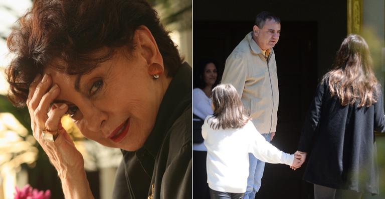 Paulo e Sérgio Segall se despedem da mãe, Beatriz