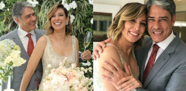 Bonner e Nastasha: enfim casados