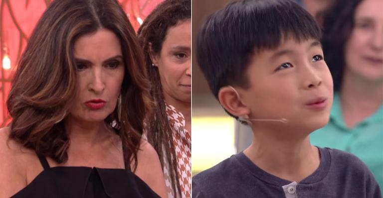 Fátima Bernardes dá resposta sincera para menino no 'Encontro' e deixa fãs confusos