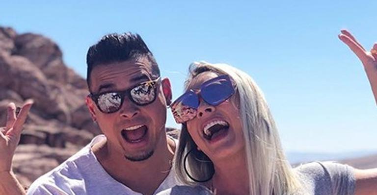 Marido da musa fitness publicou clique safadinho nas redes sociais