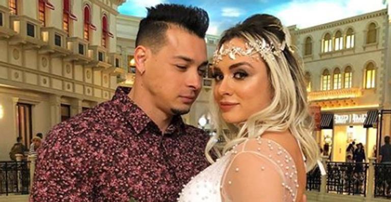 Juju Salimeni renova os votos de casamento