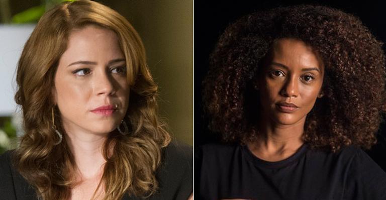 Leandra Leal e Taís Araújo estão em nova série da TV Globo