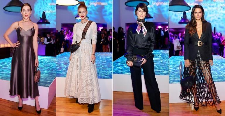 Marina Ruy Barbosa e outras famosas arrasam na escolha dos looks